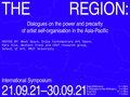 "Western Front, ""The Region Symposium,"" 2021"