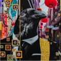 """Matt Politano, """"New Gold Dream:A celebration of beauty, mystery, and the absurd,"""" 2021"""