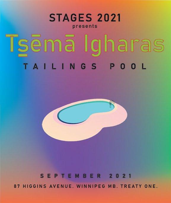 """Tsēmā Igharas, """"Tailings Pool,"""" 2021"""
