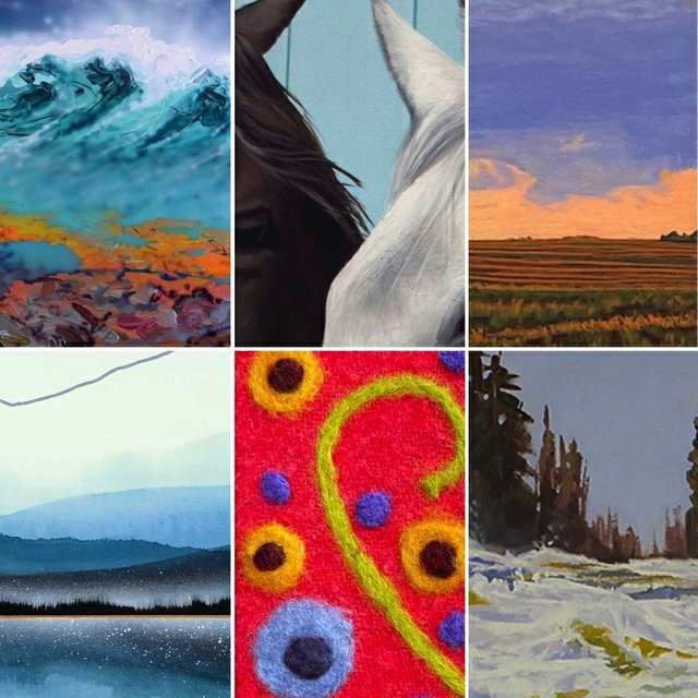 """Assiniboia Gallery, """"Sixth Annual Art Now,"""" 2021"""