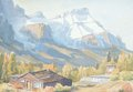 """Margaret Shelton, """"Mount Rundle from Harvey Heights, Can , 1978more,"""""""