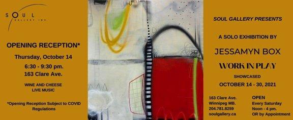 """Jessamyn Box, """"Work in Play,"""" 2021"""