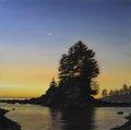 """Ray Ward, """"Crescent Moon, Botany Bay,"""" 2021"""