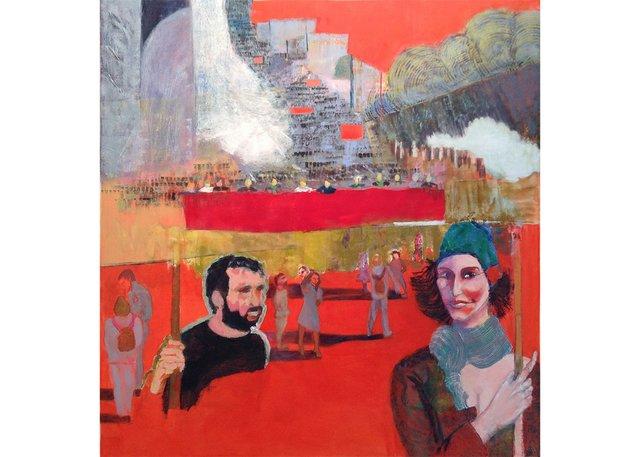 """Mary Joyce, """"Democracy!/ Démocratie!,"""" 2014"""