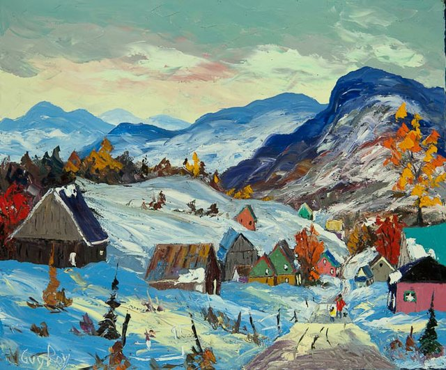 """Guy Roy """"L'Hiver a Charlevoix"""""""