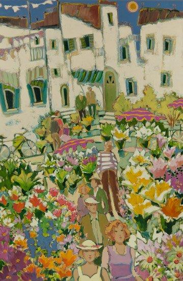 """Claudette Castonguay """"Les Festival des Fleurs"""""""