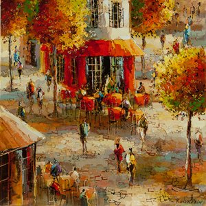 "Michael Rozenvain ""On the Patio"""