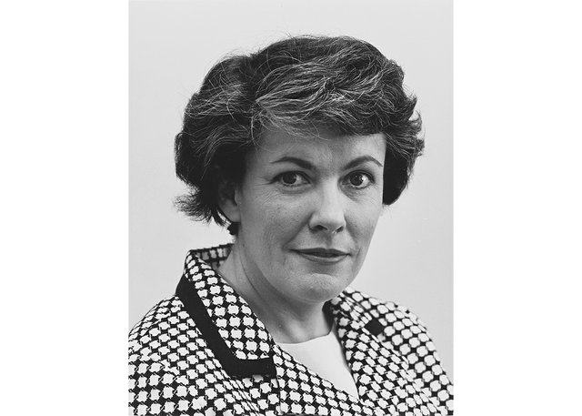 """Jean Sutherland Boggs, first female director of the National Gallery of Canada. (from """"Women at the Helm"""" by Diana Nemiroff; McGill-Queens, 2021)"""