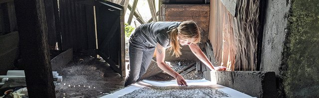 "Alana Bartol, ""To Dig Holes and Pierce Mountains, Crowsnest Pass, Alberta,"" 2020"
