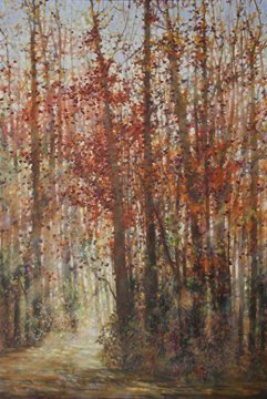 "Bev Rodin ""FOREST LIGHT SERIES - TOMATO RED"""