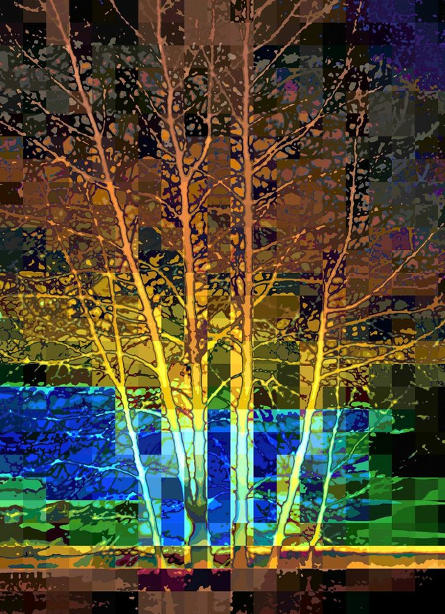 "Lorene Runham, ""Good Place to Find,"" 2017"