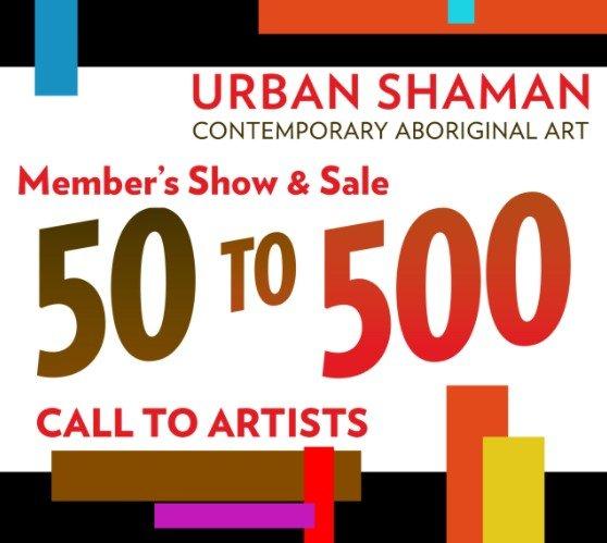 "Urban Shaman, ""50 to 500,"" 2021"