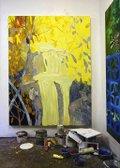 "Ben Reeves, ""Study Ravine (Yellow),"" 2021"