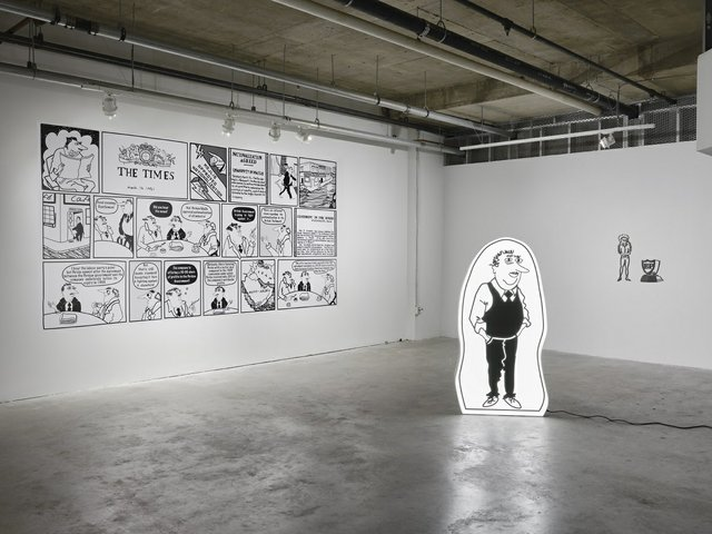 """Sona Safaei-Sooreh, """"Revolving: a family tale,"""" 2021, installation view at Centre A, Vancouver (photo by Rachel Topham Photography)"""