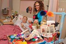 """University of Alberta Hospital's artist-in-the-wards program"""