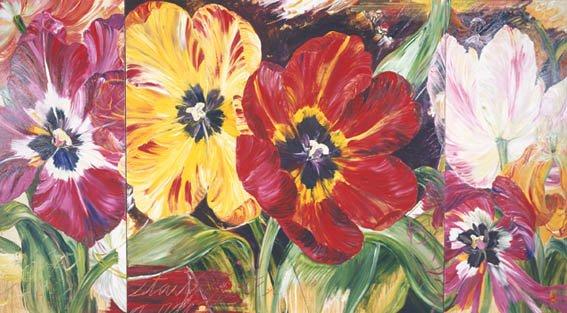 """Bobbie Burgers, untitled floral"""