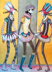 """Costumed Dolls"""