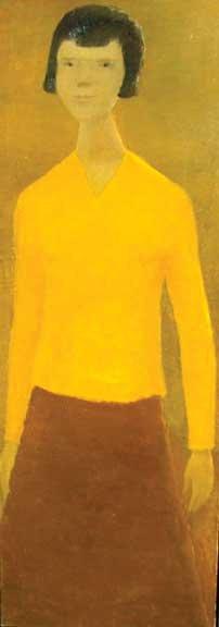 """""""Jeune fille au chandail jaune"""""""