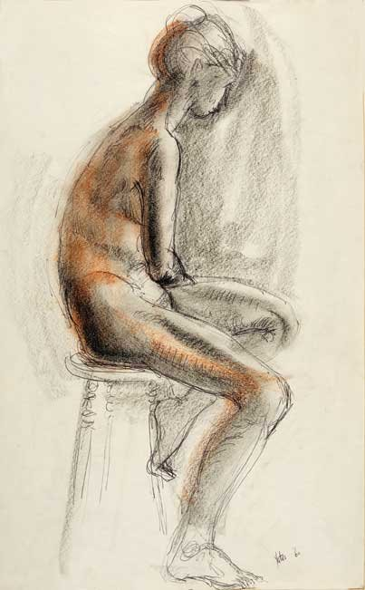 """Nude Seated"""