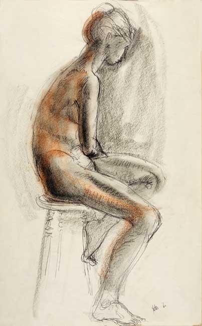 """Nude Seated"""