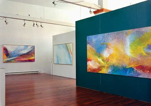 """""""View of Yates exhibition"""""""