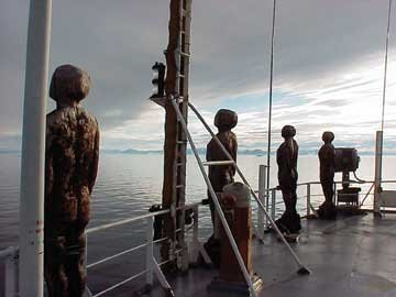 """""""The Watchers aboard CCGS Henry Larsen, seen enroute to the Arctic."""""""