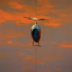"Wanda Koop, ""Helicopter"" (from the series Northern Suite)"