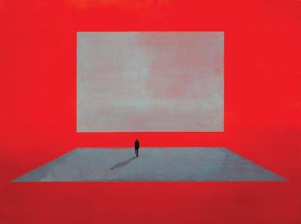 "Wanda Koop, ""Untitled"" (from the series Hybrid Human [red]),"