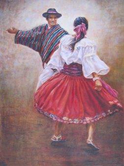 """Carol Nelson Meleshko  """"The Dancers"""""""