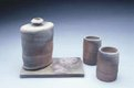"""Flask with two cups and tile"""