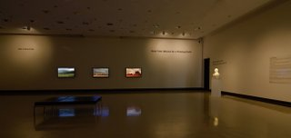 """Kent Tate, Art Gallery of Swift Current"" North Wall and East Wall"