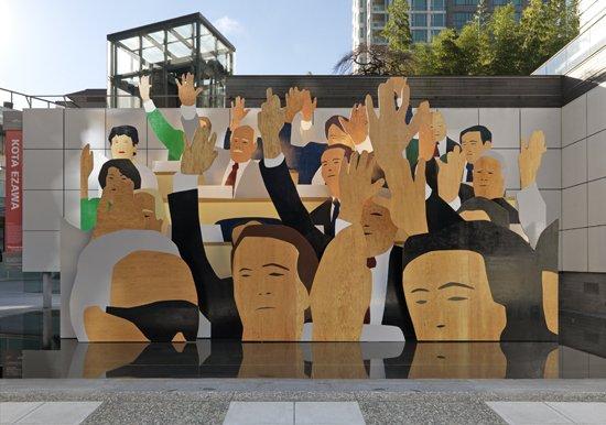 """Kota Ezawa """"Hand Vote"""""""