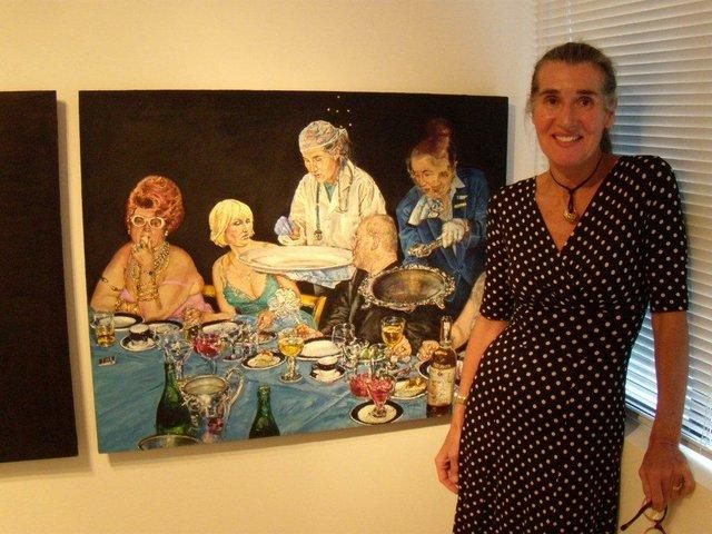 """Natalka Husar """"Looking at Art"""""""