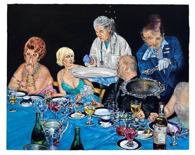 """Natalka Husar """"Looking at Art"""" 2009"""