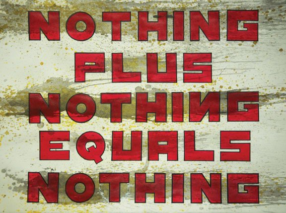 """""""Untitled (Equals Nothing)"""""""
