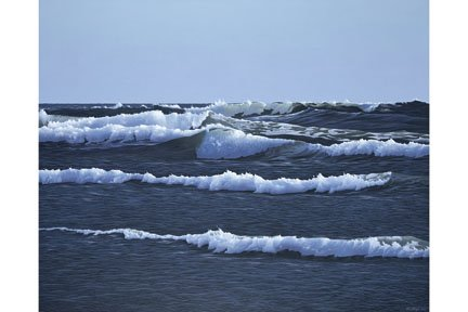 """Foaming Sea"""
