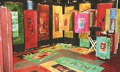 """Stunning Dunning, """"Magical Floor Art"""""""