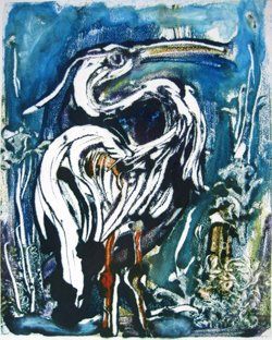 "Gerri Ann Siwek ""Great Blue Heron"""