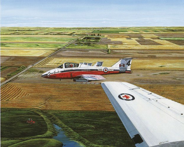 """Snowbirds 431 Air Demonstration Squadron"""