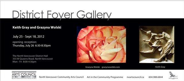 Grazyna Wolski & Keith Gray invitation