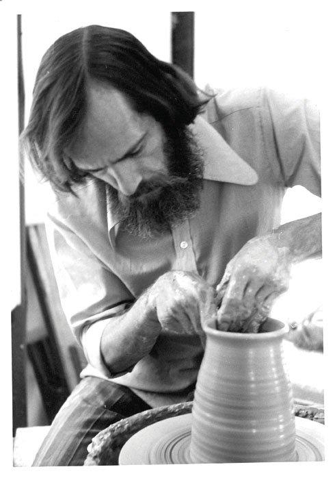 """Ian Steele, potter"""