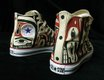 """Untitled, Hand-painted Canvas Converse All-Star Sneakers"""