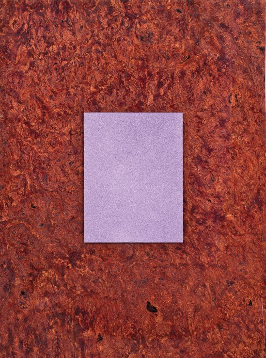 """Purple Rectangle on Jarrah Burl"""