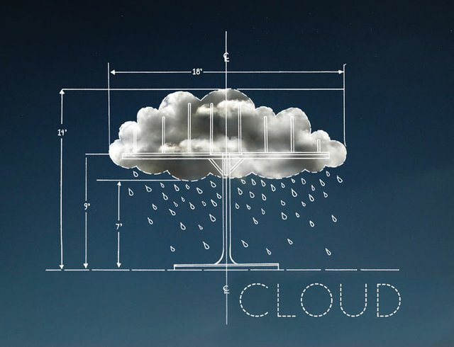 """Cloud (Nuit Blanche project sketches)"""