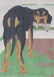 """Dog with Bone"""