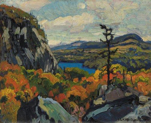 """Early Autumn, Montreal River, Algoma"""