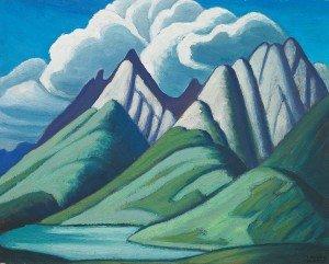 """Mountain Sketch VII"""