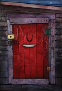 """Ephraim Kelloway's Red Door"""