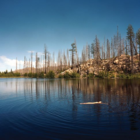 """Swimmer, Near Chute Lake"""