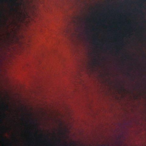 "Janice Mason Steeves ""Silence Red 2 (1246)"""